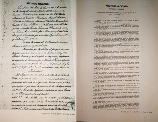 Cuba,Constitucion,1869