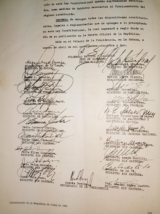 Cuba,Constitucion,1952,ONEI